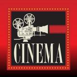 Fond abstrait de cinéma Images stock