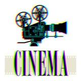 Fond abstrait de cinéma Photos stock