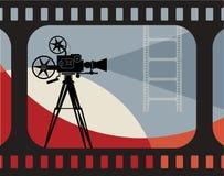 Fond abstrait de cinéma Photographie stock
