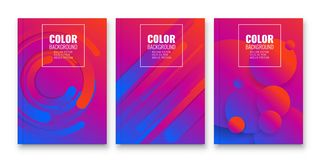 Fond abstrait de conception d'insecte calibre de brochure Images libres de droits