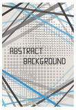 Fond abstrait de conception de calibre de brochure d'insecte Images libres de droits