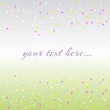 Fond abstrait de confeti Images stock
