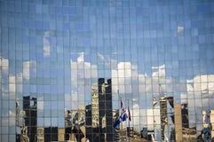 Fond abstrait de construction Photographie stock