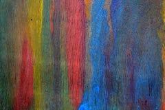 Fond abstrait de contreplaqué de couleur d'arc-en-ciel Image libre de droits