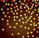 Fond abstrait de couleur avec des étoiles Vecteur illustration libre de droits