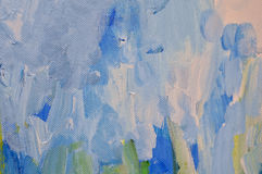 Fond abstrait de couleurs bleues et blanches image libre de droits