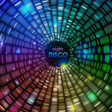 Fond abstrait de disco Image stock
