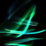 Fond abstrait de feu vert Image stock