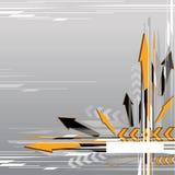 Fond abstrait de flèche illustration stock