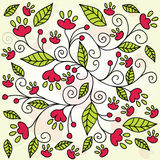 Fond abstrait de fleur Photo libre de droits