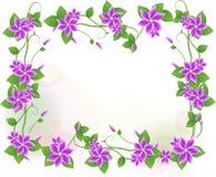 Fond abstrait de fleur Photographie stock