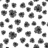Fond abstrait de fleur Image stock