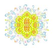 Fond abstrait de fleurs illustration libre de droits