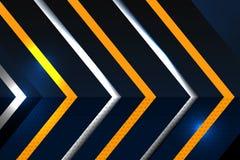 Fond abstrait de formes géométriques Images stock