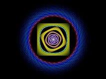 Fond abstrait de fractale Photo stock