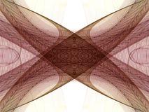 Fond abstrait de fractale illustration libre de droits