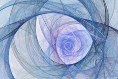 Fond abstrait de fractale Images stock