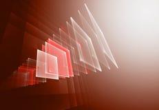 Fond abstrait de fractale Photos stock