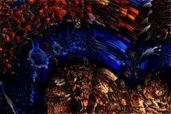 Fond abstrait de fractale image stock