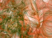 Fond abstrait de fractale Collage de Digital Photo stock