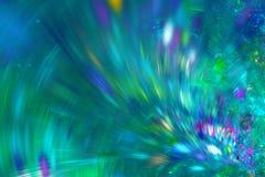Fond abstrait de fractale Image texturisée dans des couleurs multi Images stock