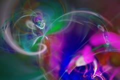 Fond abstrait de fractale Image texturisée dans des couleurs multi Photos libres de droits