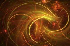 Fond abstrait de fractale Image texturisée dans des couleurs multi Images libres de droits