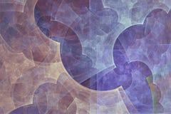 Fond abstrait de fractale Peinture abstraite dans des couleurs en pastel vues comme des images d'une caverne L'image texturisée d Photos libres de droits