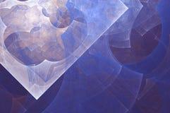 Fond abstrait de fractale Peinture abstraite dans des couleurs en pastel vues comme des images d'une caverne L'image texturisée d Image libre de droits