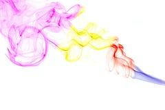 Fond abstrait de fumée Image stock