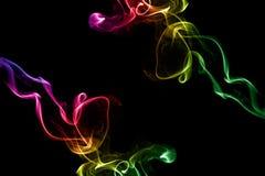 Fond abstrait de fumée Photographie stock