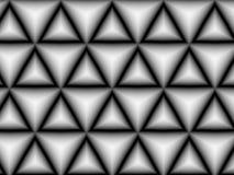 Fond abstrait de gris de triangle Images stock