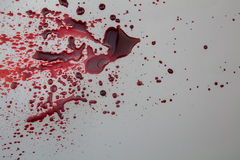 Fond abstrait de grunge d'éclaboussure de sang Image libre de droits