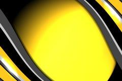 Fond abstrait de jaune d'affaires Photos stock
