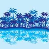 Fond abstrait de jungle Photo libre de droits
