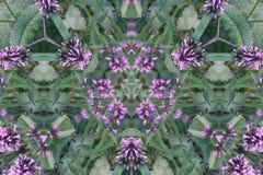 Fond abstrait de kaléidoscope Belle texture multicolore de kaléidoscope Conception unique et inimitable Symétrique géométrique photographie stock
