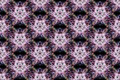 Fond abstrait de kaléidoscope Texture sans joint photo stock