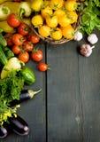 Fond abstrait de légumes de conception Photo libre de droits