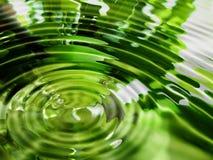 Fond abstrait de l'eau Photos libres de droits