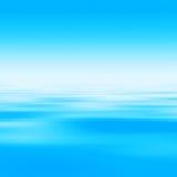 Fond abstrait de l'eau Image libre de droits