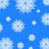 Fond abstrait de l'hiver Image libre de droits
