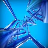 Fond abstrait de la technologie 3D Photos stock