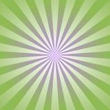 Fond abstrait de lumière du soleil Fond d'éclat de couleur verte Illustration de vecteur Images libres de droits