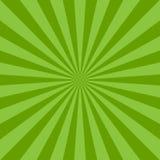 Fond abstrait de lumière du soleil Fond d'éclat de couleur verte Illustration de vecteur Rayon de soleil de rayon de faisceau de  Images libres de droits