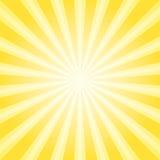 Fond abstrait de lumière du soleil Fond jaune d'éclat de couleur de poudre illustration stock
