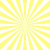 Fond abstrait de lumière du soleil Fond jaune d'éclat de couleur de poudre illustration libre de droits