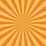 Fond abstrait de lumière du soleil Fond orange et brun d'éclat de couleur illustration libre de droits