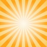 Fond abstrait de lumière du soleil Fond orange et brun d'éclat de couleur illustration de vecteur