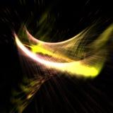 Fond abstrait de lumière jaune Image stock