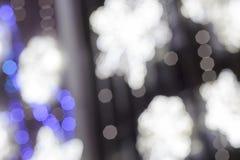 Fond abstrait de lumière de ville de bokeh Photo stock